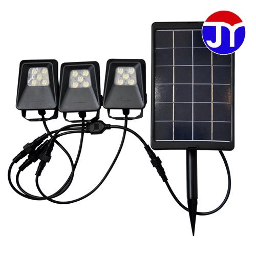 炬一照明 太阳能地插灯 10W一拖三