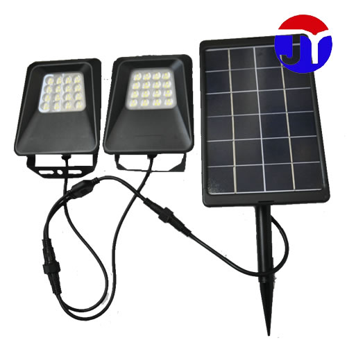 炬一照明 30W 太阳能地插灯 一拖二