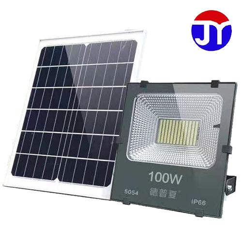 炬一照明 太阳能黑金刚 100W 投光灯