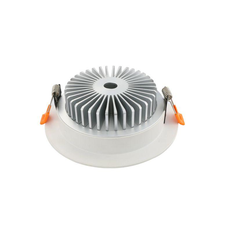 小2.5寸LED豪华筒灯外壳配件 筒灯套件 厚料 免费拿样 [100%厂家]
