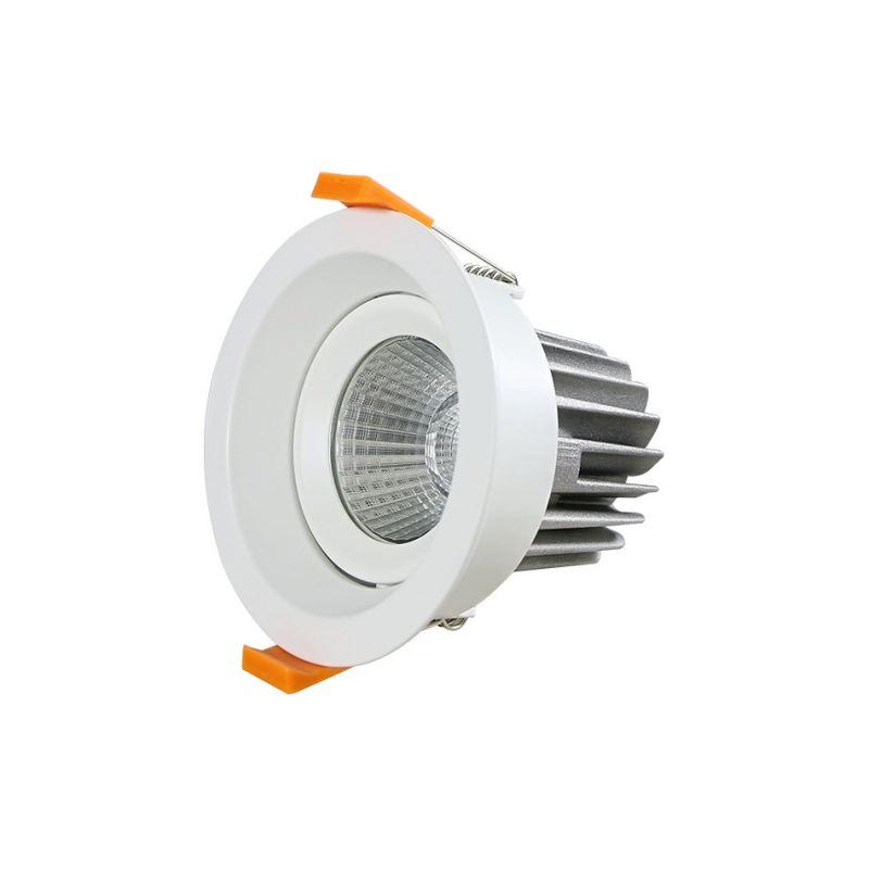 2.5寸led压铸筒灯 防眩cob压铸筒灯 酒店工程压铸筒灯