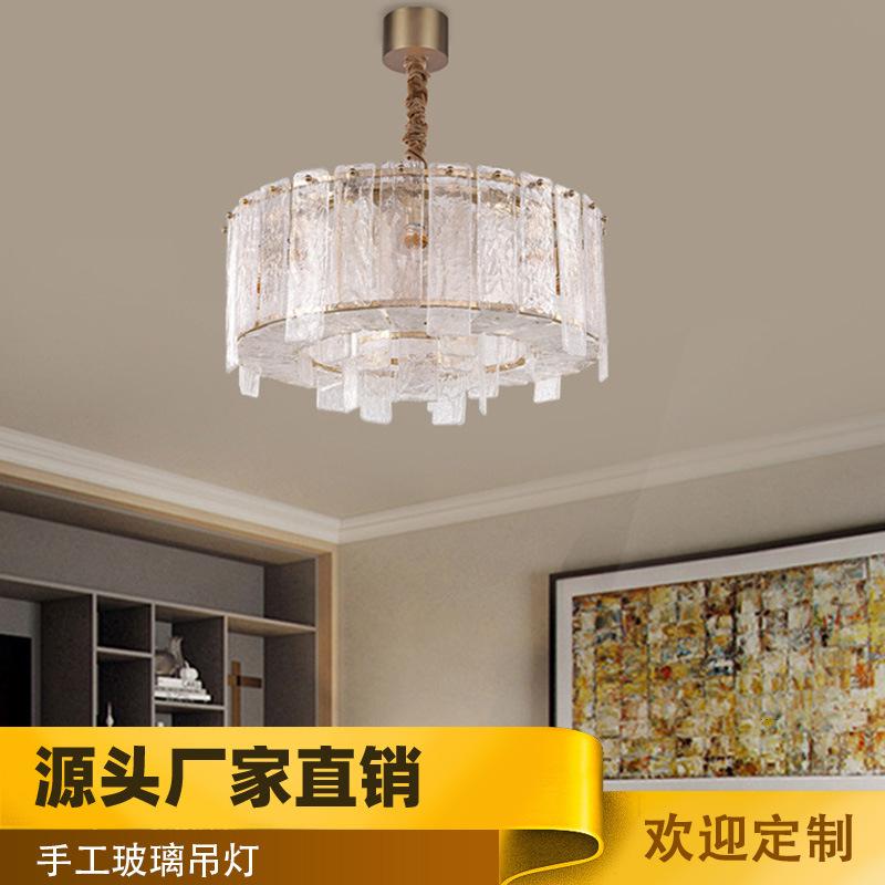 美式现代个性LED水晶吊灯 客厅卧室吊灯 接受定制
