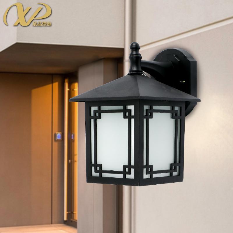 户外壁灯室外灯具中式简约庭院灯阳台露台阳光防水外墙复古欧式方