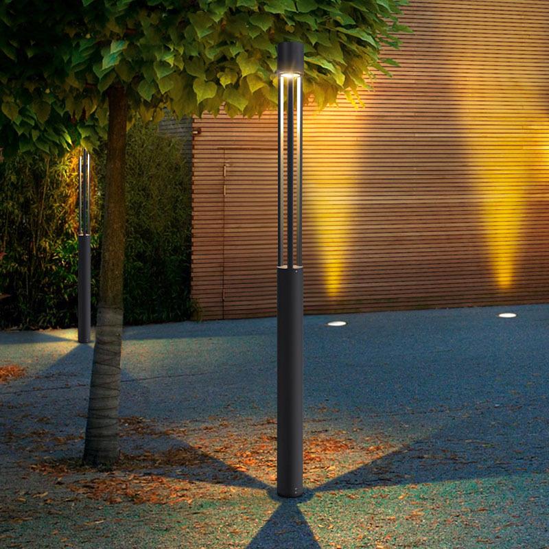 厂家定制简约led庭院灯 户外防水亮化景观灯公园小区草坪照明灯