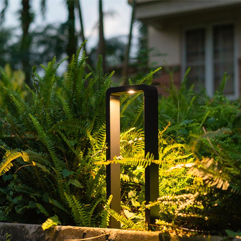 新款庭院灯现代简约户外草坪灯室外led灯防水公园花园别墅草地灯