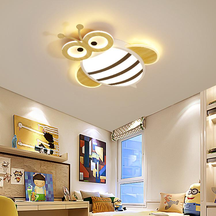 儿童房灯饰创意卧室女孩公主房灯具男孩卡通房间吸顶灯现代简约