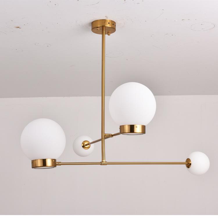 设计师魔豆吊灯北欧客厅灯后现代轻奢艺术树枝灯创意简约卧室灯具