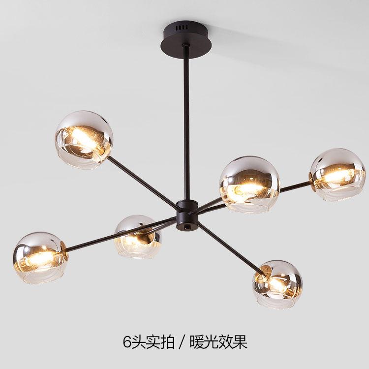 北欧卧室灯吊灯现代简约大气魔豆餐厅灯创意个性房间灯饰大气吊灯