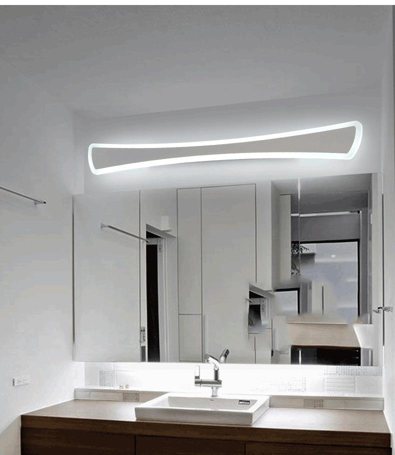 镜前灯led 浴室卫生间镜柜灯亚克力化妆镜灯防水防雾灯具源头工厂
