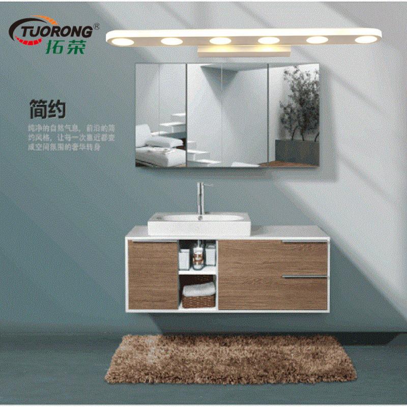 LED镜前灯浴室卫生间防水防潮卫浴不锈钢镜前灯欧式客厅壁灯
