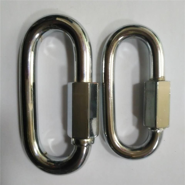 王建五金 8厘铁质锁扣连接扣环安全扣 厂家直销 量大从优非标定做
