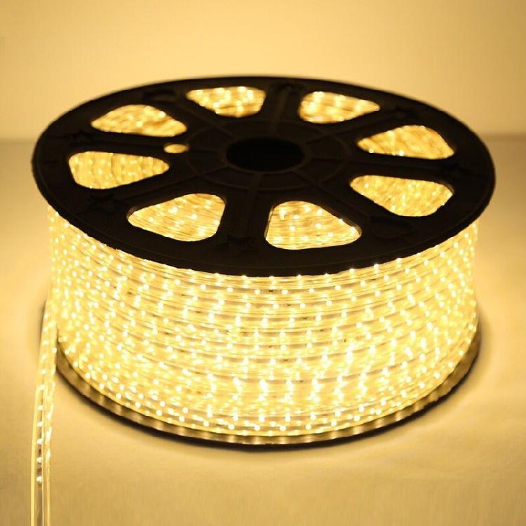 led灯带5050防水客厅高亮超亮暖白蓝光灯带彩色贴片吊顶软光带