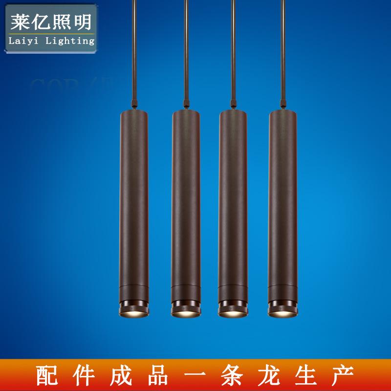 长筒吊线灯 美式后现代锥形装饰餐厅吧台吊灯