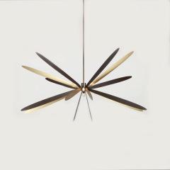 后现代北欧蜻蜓客厅五金吊灯艺术餐厅卧室设计师样板房软装吊灯