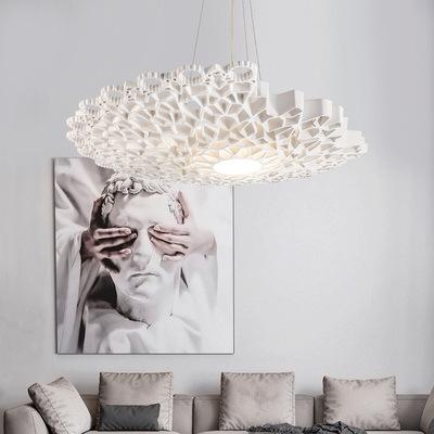 意大利创意现代客厅吊灯艺术卧室餐厅书房设计师样板房蜂巢吊灯