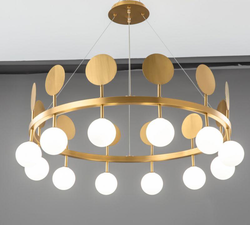后现代简约创意设计师北欧客厅书房餐厅走廊玄关吊灯艺术金属吊灯