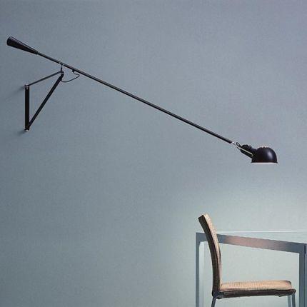 北欧后现代长杆壁灯设计师创意loft摇摆长臂个性简约客厅壁灯具