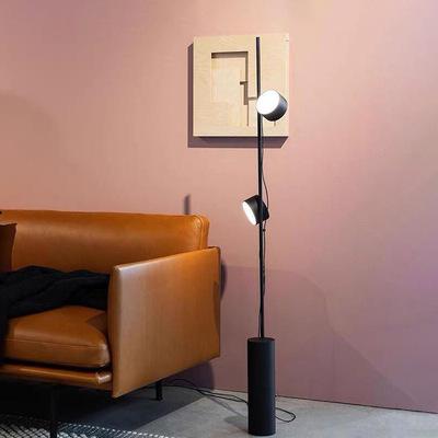 现代创意客厅卧室书房北欧简约设计师样板间工作室酒店民宿落地灯