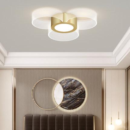 2020年新款吸顶灯简约现代客厅灯大气家用卧室灯北欧创意个性灯具