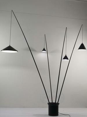 落地灯钓鱼灯立式简约美式创意时尚个性艺术客厅卧室书房酒店台灯