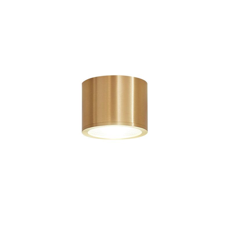 明镜致远 全铜明装筒灯led天花灯5W单灯7W射灯吸顶走廊过道玄关