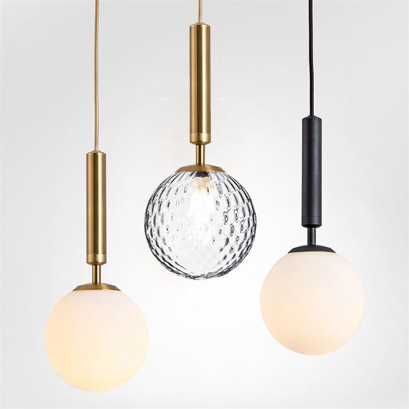 北欧现代卧室床头吊灯 创意三头餐厅吊灯 吧台服装店奶茶店小吊灯