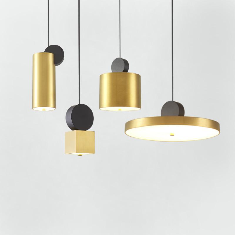 后现代创意不锈钢餐厅吊灯简约个性客厅卧室吧台led北欧展厅吊灯