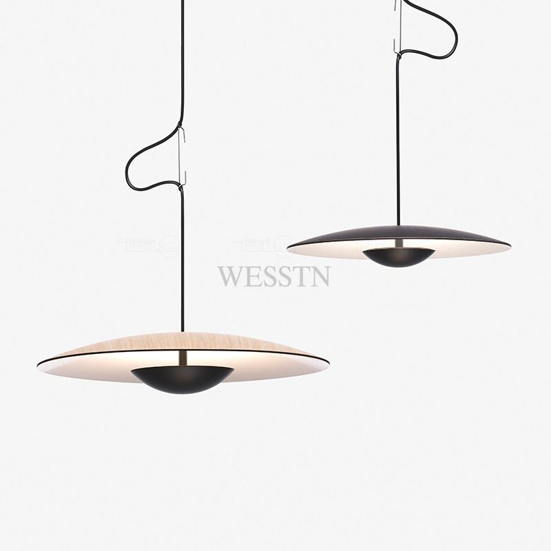 设计师餐厅吊灯创意简约服装店铺个性展厅单头吊灯WST-FP-D1250