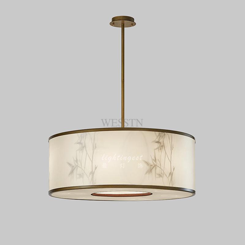 新中式客厅灯饰现代简约创意个性中国风新中式餐厅卧室吊灯