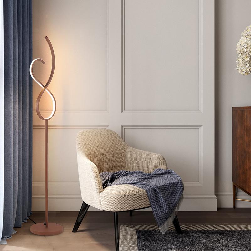 亚克力LED台灯 创意线条个性简约客厅卧室床头书桌小夜灯护眼台灯