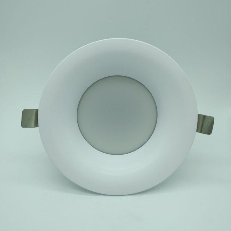 厂家直销 led压铸筒灯外壳套件  天花灯外壳 筒灯套件 筒灯配件