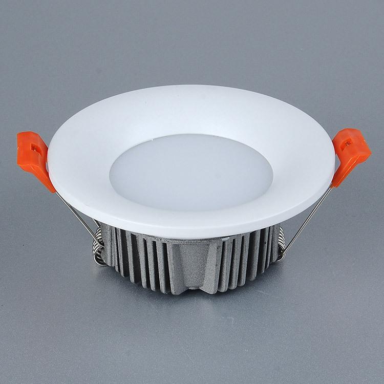 批发室内筒灯 家装暗装孔灯 嵌入式洞灯 led防眩天花筒灯