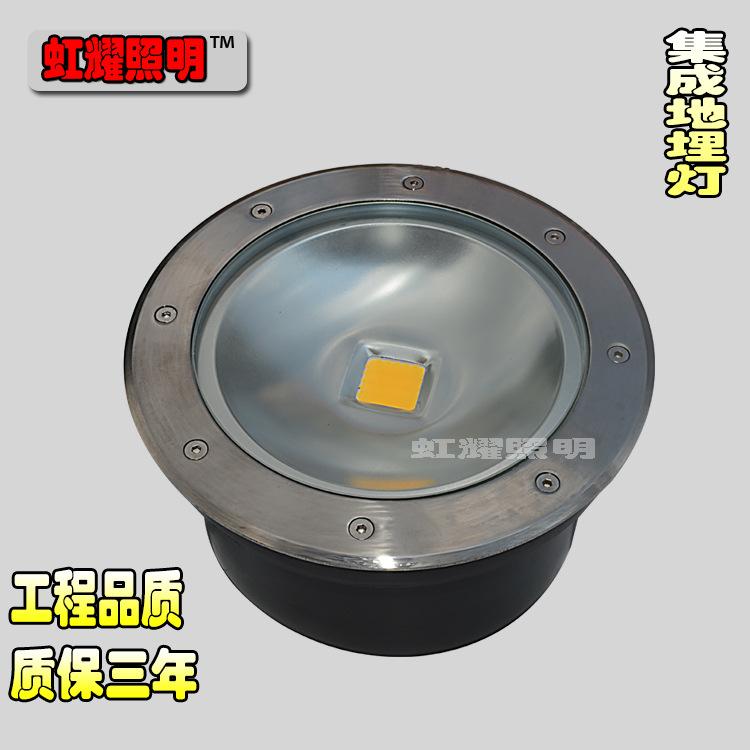 LED地埋灯10W20W30W50W集成地埋灯COB圆形地埋灯3W5W7W埋地灯