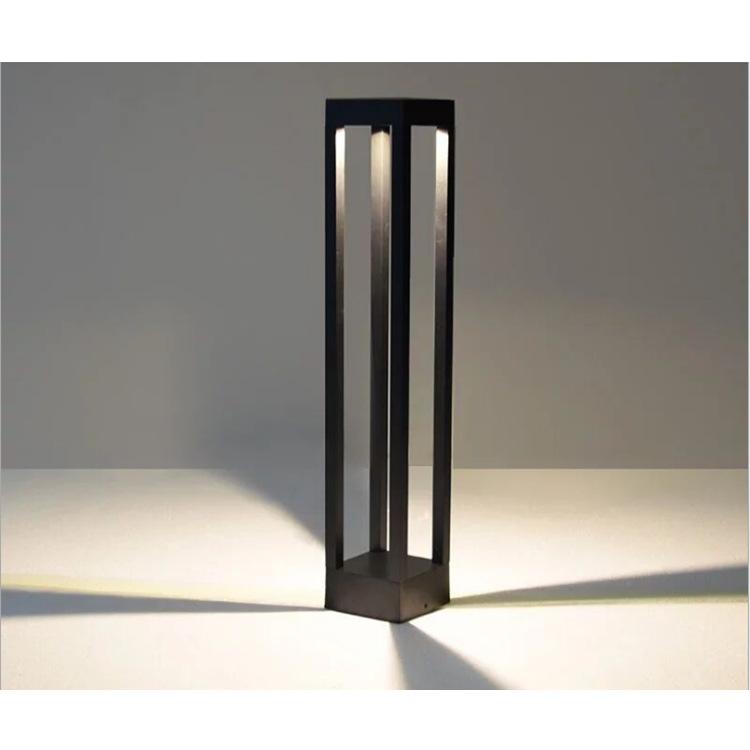 LED草坪灯外壳10-15W公园别墅防水户外工厂led草坪灯套件简约节能