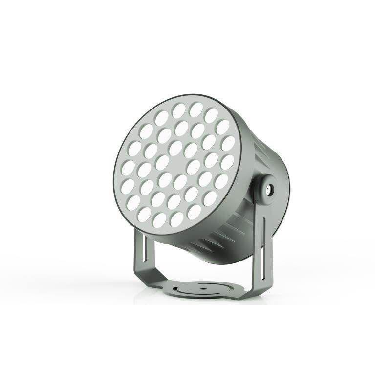 圆形LED投光灯外壳 3W 6W 12W 18W 24W 36W led射灯外壳户外防水
