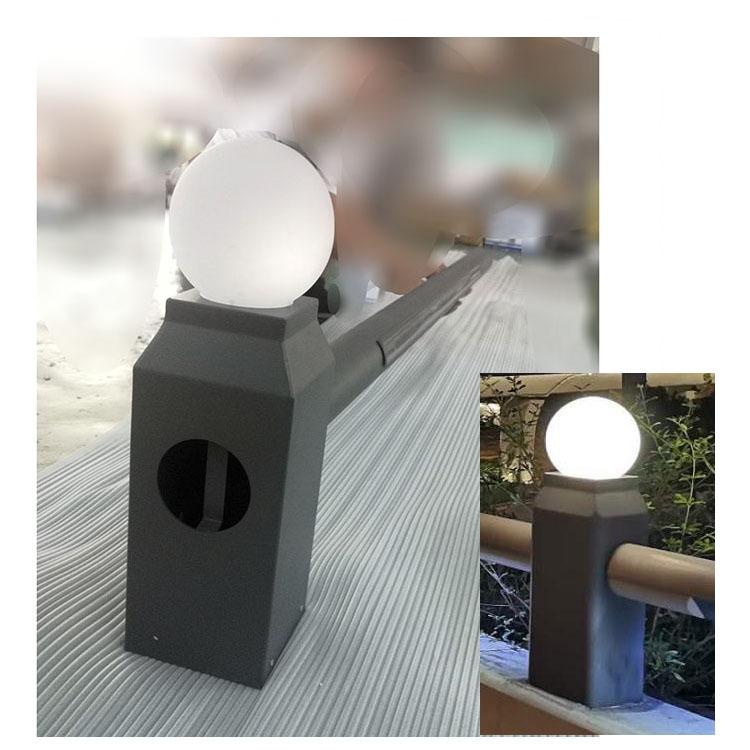 LED夜明珠桥梁灯外壳高速路桥梁公路防撞护栏灯18W24W偏光码头灯