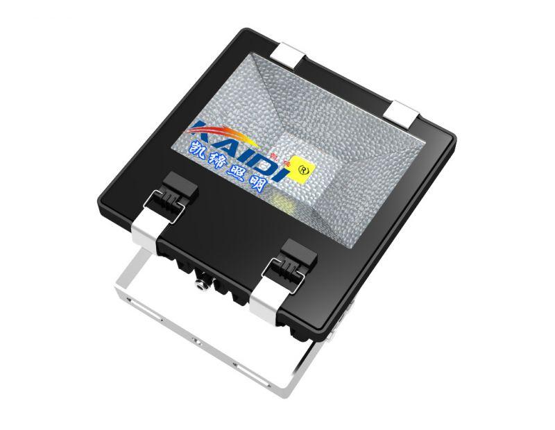 LED 超高亮工程专用投光灯 集成大功率新款射灯带反光罩黑色外壳