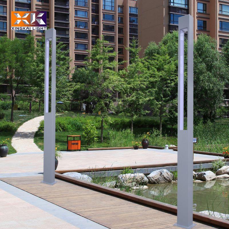 庭院景观灯定制 厂家定做小区庭院景观灯 3.5米方形庭院景观灯
