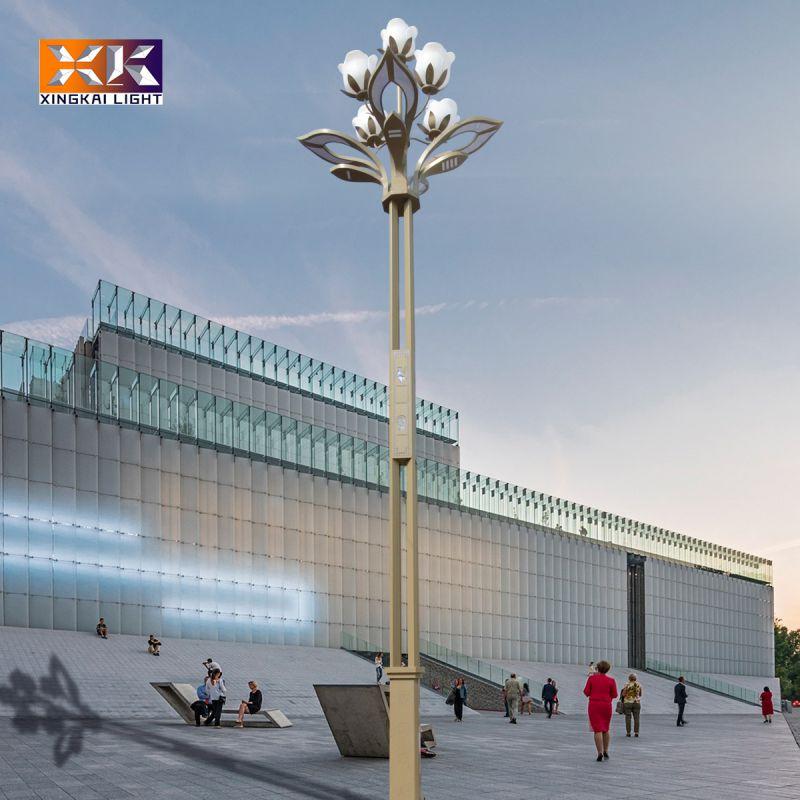 定制led玉兰景观灯户外广场用 厂家生产道路照明用玉兰灯景观灯