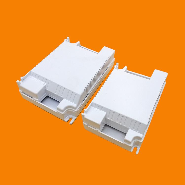 LED电源塑胶驱动外壳面板灯LED电源盒塑料led吸顶灯驱动电源外壳