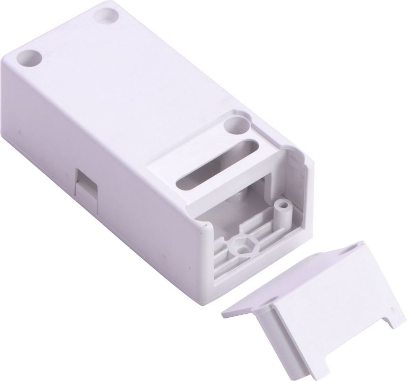 直销LED驱动电源塑料盒SA-86LED变压器塑料外壳电源外壳一体化