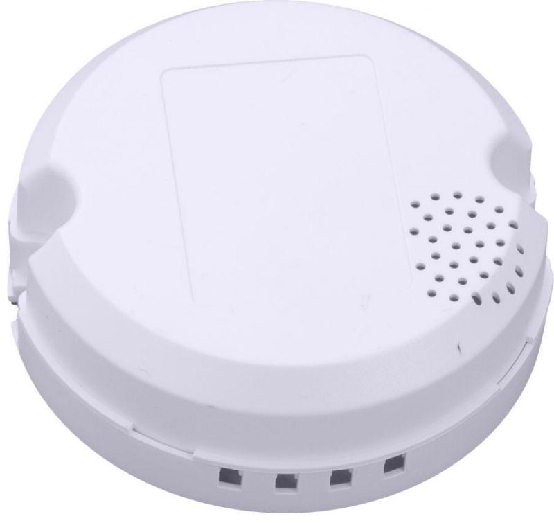 LED塑料外壳塑胶电源外壳圆形电源外壳塑料驱动盒筒灯带散热孔