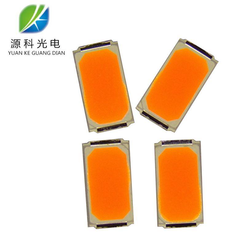 供应5730调粉橙光 SMD5730 0.5W LED5730白光 调粉 暖白 0.5W定制