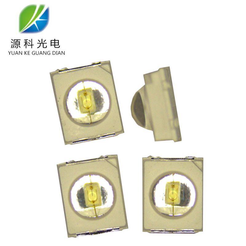 厂家直售 2835凸头透镜 2835绿光0.2W 发光角度90° 红外线发射管