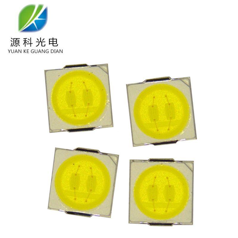厂家直售1W高光效3030贴片灯珠显指80 超高亮110-120纯金线铜支架
