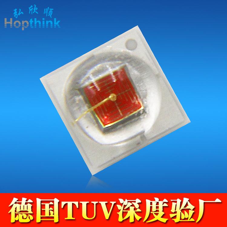 深圳厂家 620-625nm陶瓷基板2525红光 1W晶元cree xbd红光led灯珠