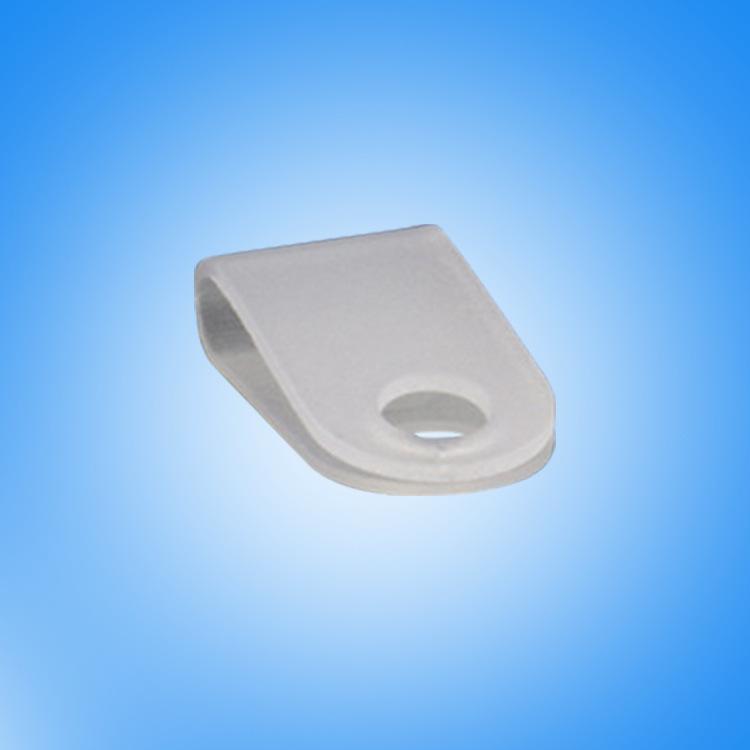 厂家批发3.3R型线夹 pp材质R型线夹 R形电线固定压线夹
