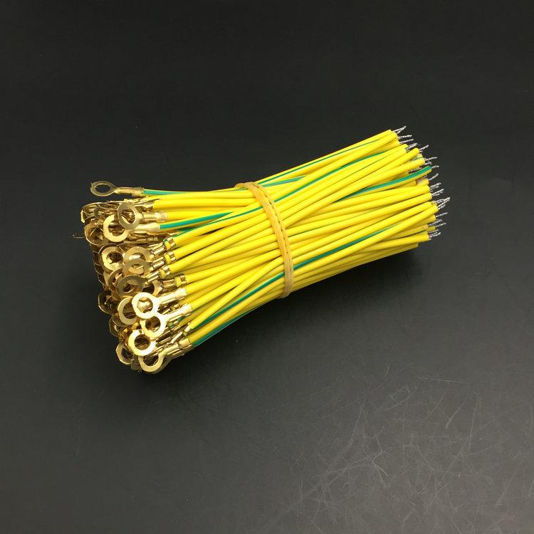 批发地环线 黄注绿地环线  灯具接地地环线 PVC裸铜接地线4.2地环