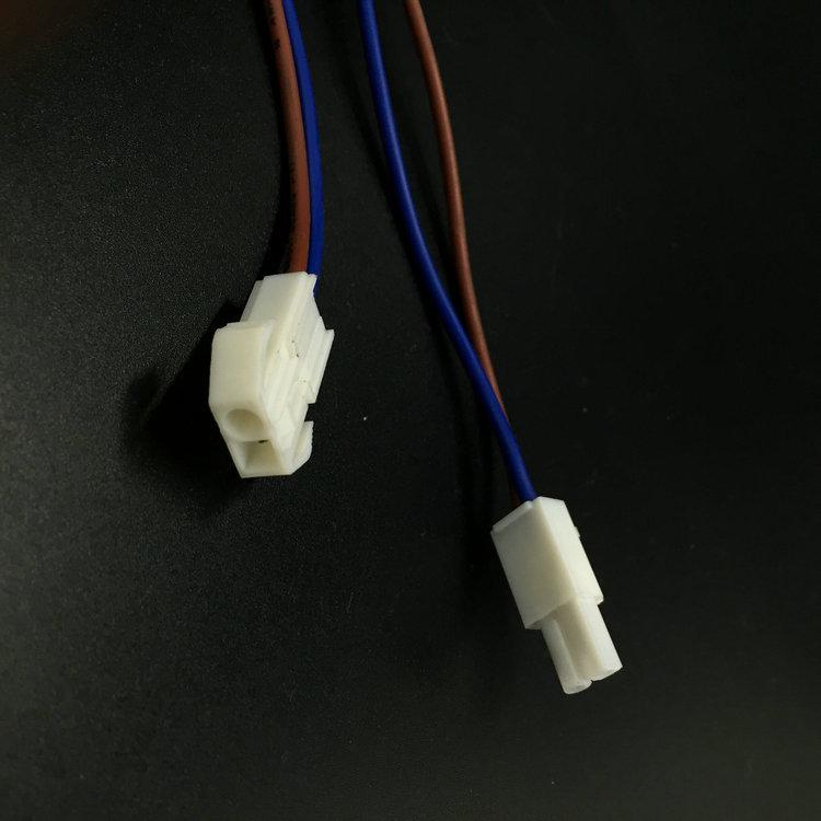 新品EL4.5公母插 镀锡铜EL4.5连接线 汽车电路连接低频端子线