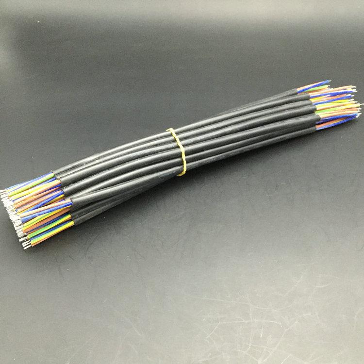 耐高温护套线 白色黑色3芯护套线 PVC灯具电器联电护套线加工定制